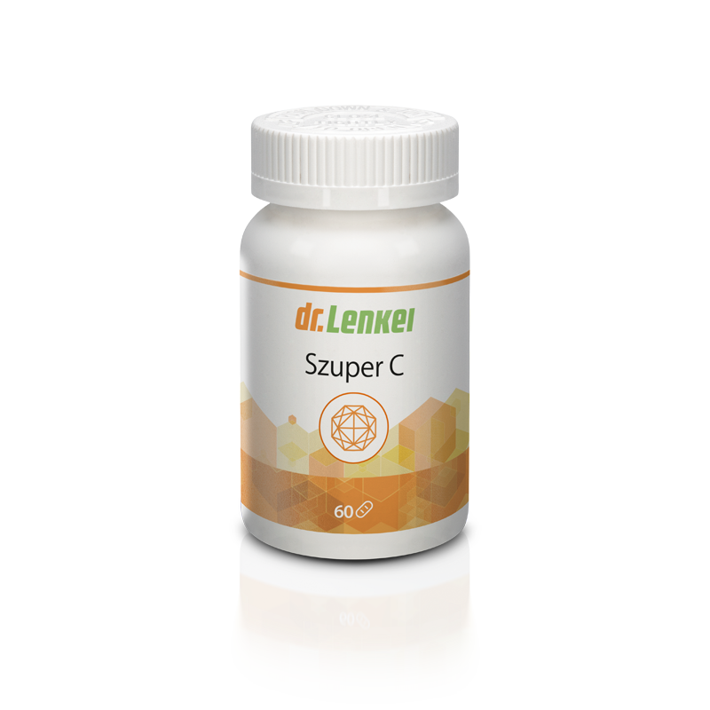 Szuper C vitamin 1000 mg 60 db